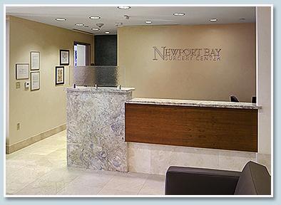 Eye clinic lobby